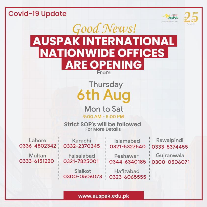 AusPak Office Opening