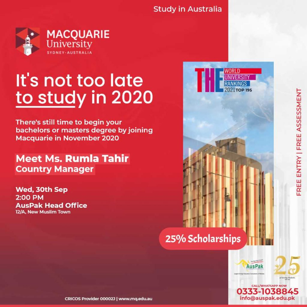 Macquarie September 2020 New