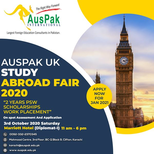 Study in UK Karachi Fair